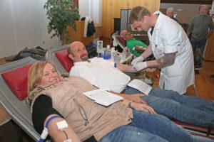 Blutspende BRK Bereitschaft Ainring