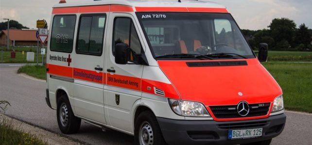 Einsatz: SEG-Transport unterstützt den Rettungsdienst bei Unwetterlage