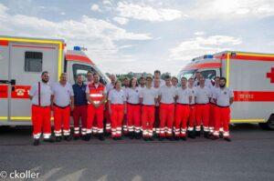 18 neue Rettungsdiensthelfer für das BRK BGL - BRK Bereitschaft Ainring