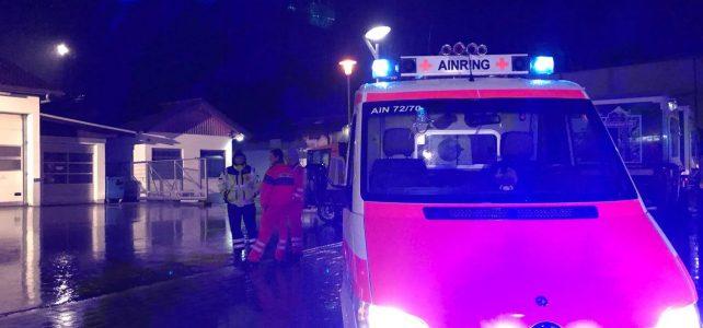 Einsatz: Brand einer Lagerhalle in Piding