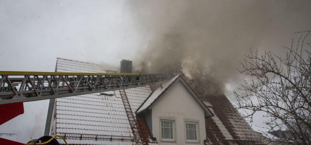 Einsatz: Wohnhausbrand in Freilassing